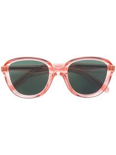 солнцезащитные очки в прозрачной оправе Céline Eyewear