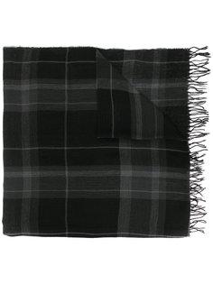 клетчатый шарф с необработанными краями Polo Ralph Lauren