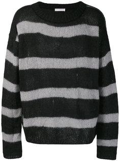 loose fit striped jumper Faith Connexion