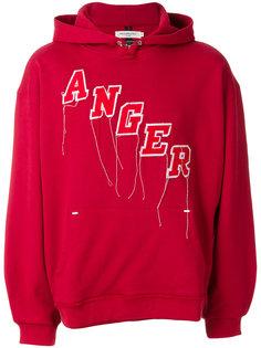 худи с вышивкой Anger Mr. Completely
