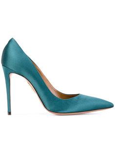 атласные туфли-лодочки Simply Irresistible Aquazzura