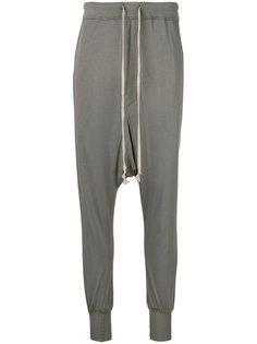 спортивные брюки с заниженной проймой Rick Owens Lilies