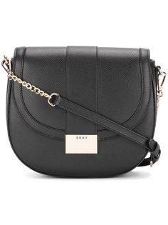 сумка через плечо с откидным клапаном DKNY