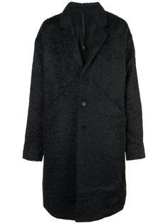 oversized buttoned-up coat Barbara I Gongini