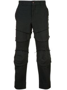 deconstructed panelled trousers Comme Des Garçons Homme Plus