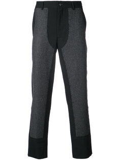 брюки с панельным дизайном Comme Des Garçons Homme Plus