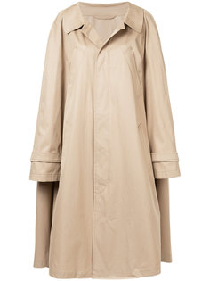 oversized trench coat with sleeve detail Nehera