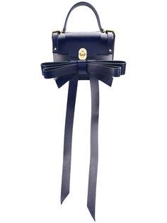 рюкзак с откидным клапаном и аппликацией банта Niels Peeraer