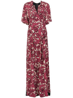 длинное платье с принтом Beasts Burberry