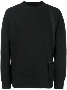 толстовка с передним карманом Helmut Lang
