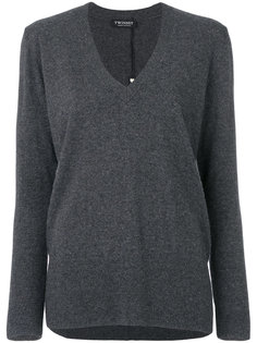 свитер с V-образным вырезом  Twin-Set