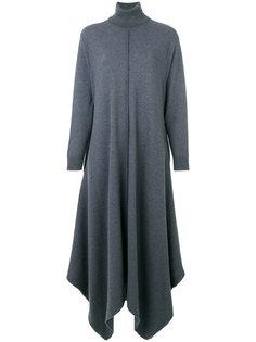 платье-свитер с высоким воротом и драпировкой  Stella McCartney