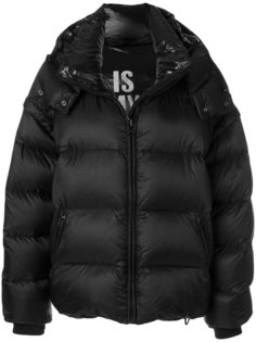 куртка-пуховик с капюшоном Faith Connexion