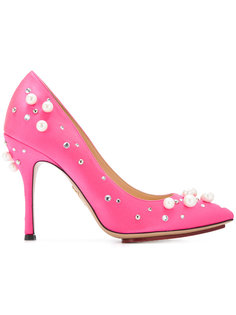 декорированные туфли-лодочки Bacall Charlotte Olympia