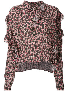 рубашка с цветочным принтом  Isabel Marant