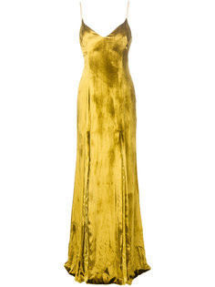 платье с кружевными вставками Galvan