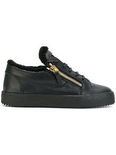 кроссовки на молнии сбоку Giuseppe Zanotti Design