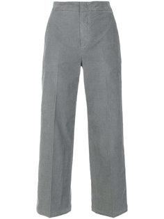 укороченные вельветовые брюки  Pt01