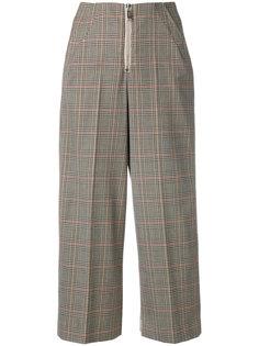 укороченные клетчатые брюки Dondup