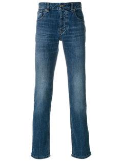 джинсы узкого кроя с выцветшим эффектом  Ami Alexandre Mattiussi