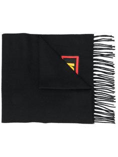 шарф с заплаткой Fendi