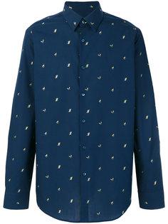 рубашка с принтом Fendi