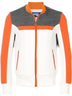 куртка на молнии с контрастными панелями Junya Watanabe Comme Des Garçons Man