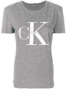 футболка с логотипом и короткими рукавами  Ck Jeans