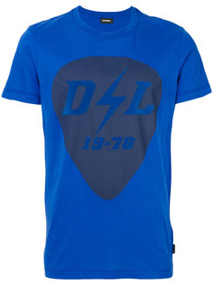 футболка с короткими рукавами Diesel