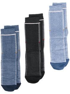 комплект из трех пар носков Diesel