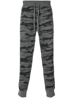 камуфляжные спортивные брюки Diesel