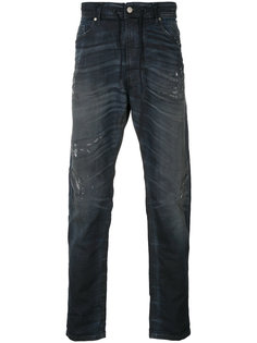 джинсы с поясом на шнурке Diesel