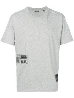 футболка с нашивками Diesel