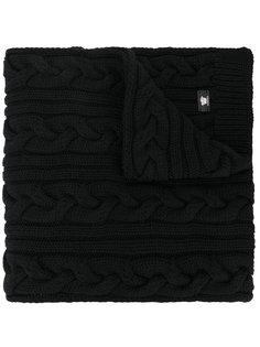 трикотажный шарф крупной вязки Versace