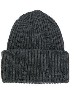 ребристая вязаная шапка Diesel