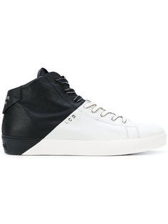 кроссовки в двух тонах Leather Crown
