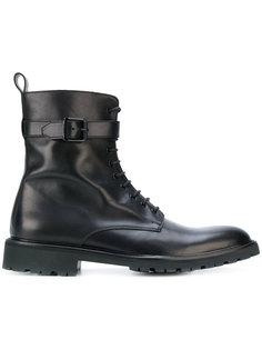 ботинки с пряжкой на шнуровке Belstaff