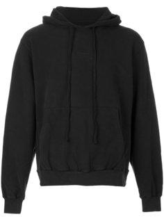 logo print hoodie  Stampd