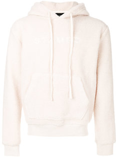 furry detail hoodie  Stampd