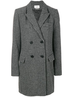 двубортное пальто в ломаную клетку  Isabel Marant Étoile