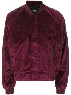 куртка-бомбер с нагрудными карманами Represent