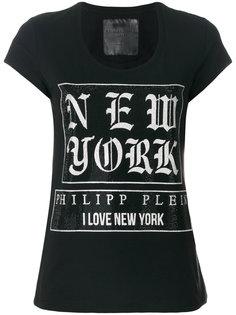 футболка с принтом New York Philipp Plein
