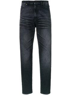 выбеленные джинсы  Saint Laurent