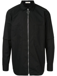 zipped bomber jacket Education From Youngmachines