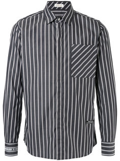 striped fitted shirt Education From Youngmachines