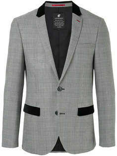 tailored plaid blazer Loveless
