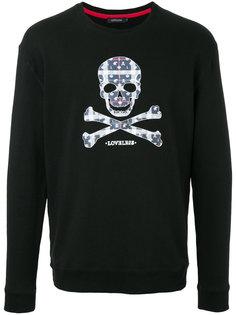 skull embroidered sweater Loveless