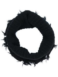 шарф-хомут с эффектом потертости Julius