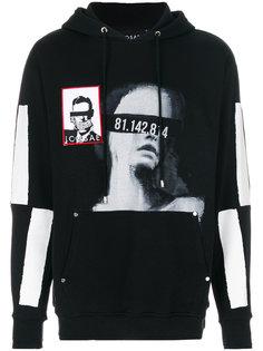 printed hoodie Icosae