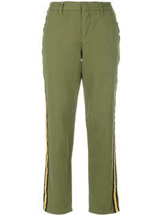 side stripe cropped trousers  Zadig & Voltaire